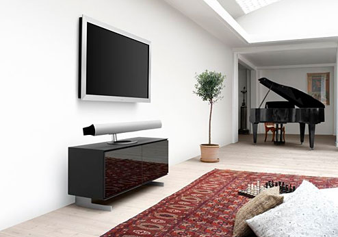 bang olufsen plasma tv mit integrierter kamera. Black Bedroom Furniture Sets. Home Design Ideas