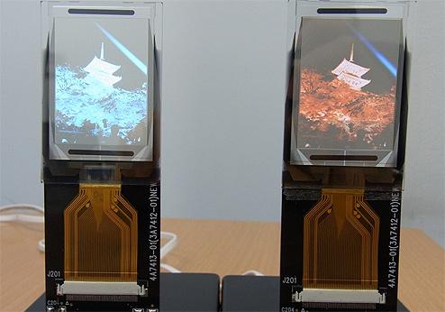 TDK OLED-Displays