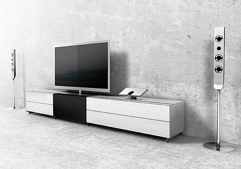 spectral tv m bel f r samsung c9090 led tv. Black Bedroom Furniture Sets. Home Design Ideas