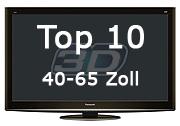 Top 10 3D-Fernseher 40-65 Zoll