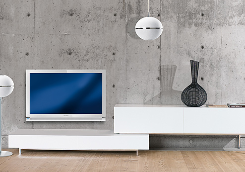 Grundig White LED-TV