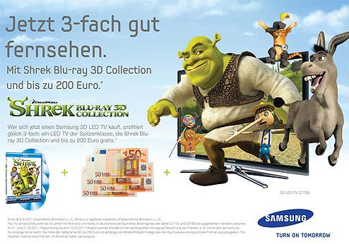 Samsung Shrek 3D
