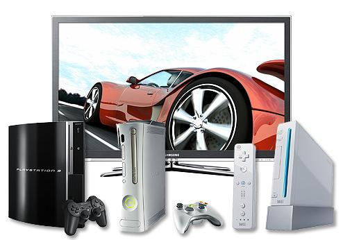 Spielkonsolen Fernseher