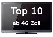 Top 10 Fernseher ab 46 Zoll