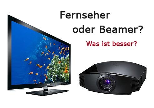 Fernseher vs. Beamer
