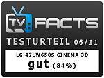 LG 47LW650S Testurteil