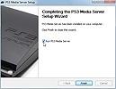 PS3 Media Server Installation abgeschlossen