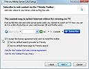 TVersity Media Server Browser Toolbar
