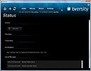 TVersity Media Server Transkodierung Status