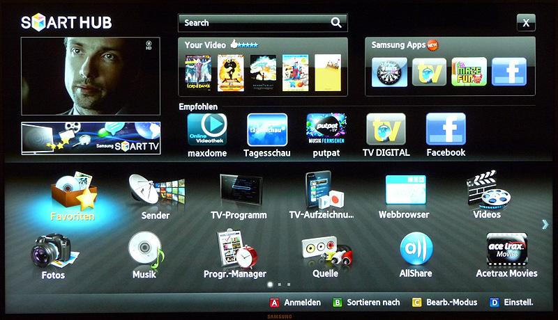 samsung d6500 ue46d6500 led smart tv im test. Black Bedroom Furniture Sets. Home Design Ideas