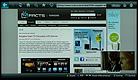 Samsung UE46D6500 Webbrowser