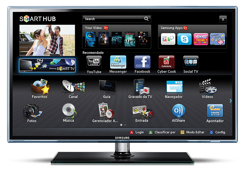 samsung ue46d6500 led smart tv im test. Black Bedroom Furniture Sets. Home Design Ideas