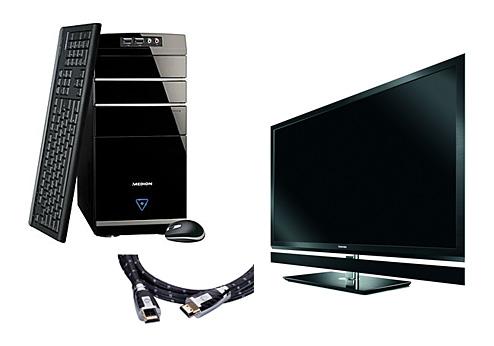 PC an Fernseher anschließen