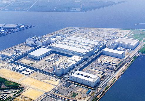 Sharp 10G-Panel-Fabrik in Sakai