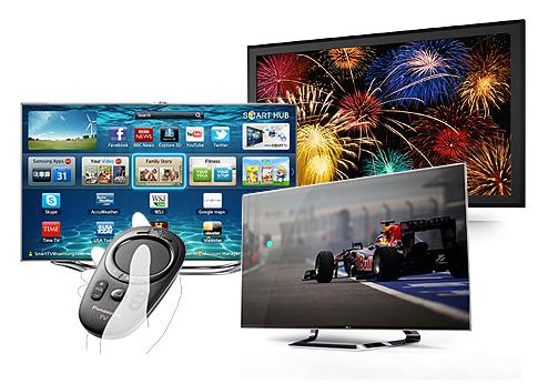 Fernseher Trends und Neuheiten 2012