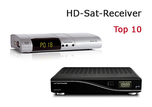 Top 10 HD-Sat-Receiver