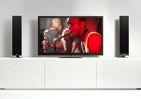 kef neue tv soundsysteme der v serie. Black Bedroom Furniture Sets. Home Design Ideas