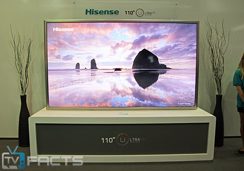 Hisense 110 Zoll UHD TV