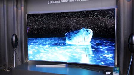 Samsung SUHD TVs auf der CES 2015