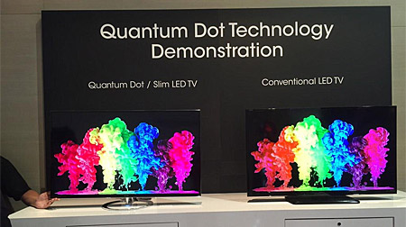 Sharp TV mit Quantum Dots