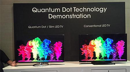 Sharp TV mit Quantum Dots